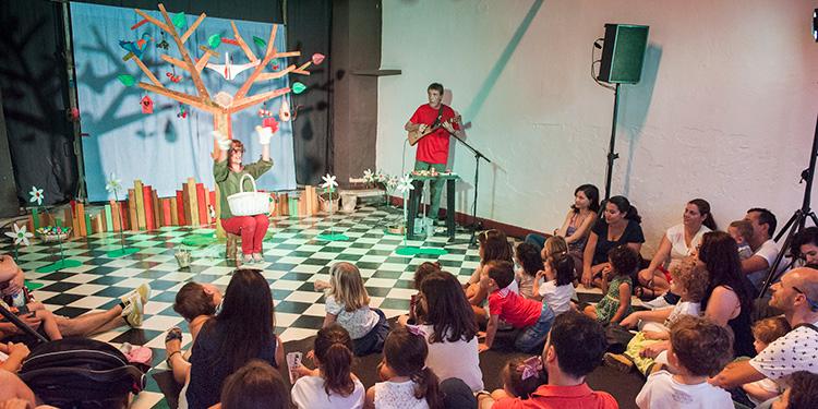 Teatro para niños mueca